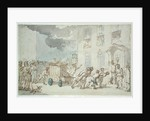 View on the Hudson River by Thomas Rowlandson