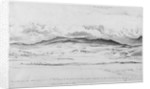 Mountain Panorama in Wales - Cader Idris by Cornelius Varley