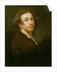 Self Portrait, Looking over Right Shoulder by Sir Joshua Reynolds