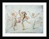Modern Grace or, The Operatical Finale of the Ballet of 'Alonzo e caro' by Thomas Rowlandson