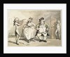 Private practice previous to the ball by Thomas Rowlandson