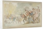 Soldiers on a March by Thomas Rowlandson