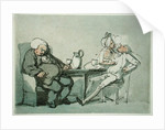 The Doctor Overcame by Thomas Rowlandson