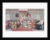James II Receiving the Mathematical Scholars of Christ's Hospital by Antonio Verrio