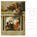 The Rape of Proserpine, design for the staircase of Devonshire House, London by Louis Laguerre