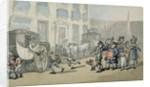 Matthew Bramble's Trip to Bath: Arrival at Bath by Thomas Rowlandson