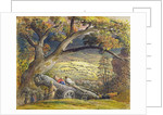 Coast Scene with Shipping by Samuel Palmer