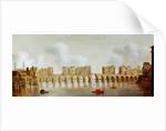 View of London Bridge by Claude de Jongh