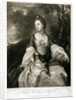 Lady Caroline Russell, engraved by James McArdell by Sir Joshua Reynolds