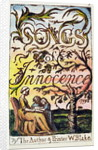 Titlepage from 'Songs of Innocence and of Experience' by William Blake