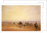 'Flying Childers' galloping to left: bridled but not saddled by David Cox