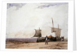 Beach Scene by Richard Parkes Bonington