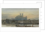 Panoramic view of London by David Cox