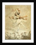 Female Dancer with a Tambourine by Thomas Rowlandson