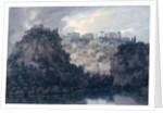 On the Lake of Nemi, c.1780-83 by John Robert Cozens