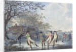 Winter Amusement: A View in Hyde Park from the Moated House by Julius Caesar Ibbetson