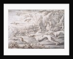 Hare Hunting by Francis Barlow