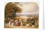 A Picnic on Richmond Hill by Joseph Murray Ince