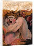 '12: Los howld in a dismal stupor...' by William Blake