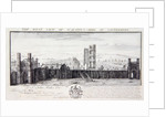 The West View of St. Austin's Abbey, in Canterbury by Nathaniel and Samuel Buck