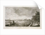 A View from Somerset Gardens to Westminster Bridge by Antonio Canaletto