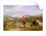 The Berkeley Hunt, 1842: The Meet by Francis Calcraft Turner