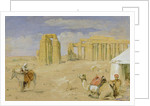 The Ramesseum at Thebes by John Frederick Lewis