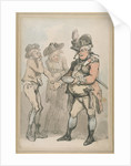 The Recruiting Sergeant by Thomas Rowlandson