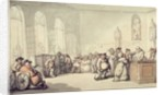 The Pump Room by Thomas Rowlandson