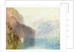 Tell's Chapel, Lake Lucerne by Joseph Mallord William Turner