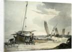 Fisherman putting out to Sea, c.1810 by John Augustus Atkinson