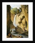 Waterfall on the Windward Road near Kingston by James Hakewill