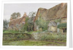 Thatched Cottages and Cottage Gardens by John Fulleylove