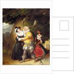 Falstaff at Herne's oak by James Stephanoff