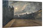 Broad Street, Oxford, full moon, 1790 by John Baptist Malchair