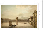 A View at Lucerne by William Pars