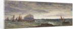 The Bass Rock at Dawn by Edward Duncan