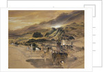 d View of Sion, Valais by John Ruskin