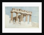The East End and South Side of the Parthenon by John Foster