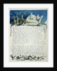 Papyrus, after James Abyssinian Bruce by William Blake