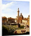A View of Trajan's Forum, Rome by Sir Charles Lock Eastlake