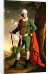 Portrait of a man, known as the 'Indian Captain' by Joseph Wright of Derby