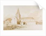 Notre Dame sur l'Eau, Domfront, Normandy by John Sell Cotman