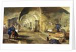 Interior of Fort Nicholas, Sebastopol, Crimea by William 'Crimea' Simpson