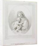 Virgin and Child, engraved by Luigi Schiavonetti by Francesco Bartolozzi