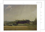 View Towards the Rectory, East Bergholt by John Constable