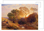 Sunset by Samuel Palmer