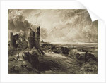 Hadleigh Castle, engraved by David Lucas by John Constable