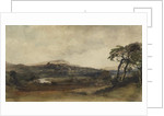 Middleham, Yorkshire by Peter de Wint