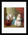 Lady Jane Mathew and her Daughters by English School